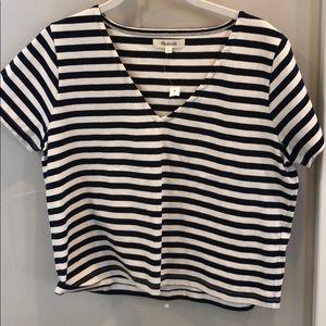 Madwell crop shirt